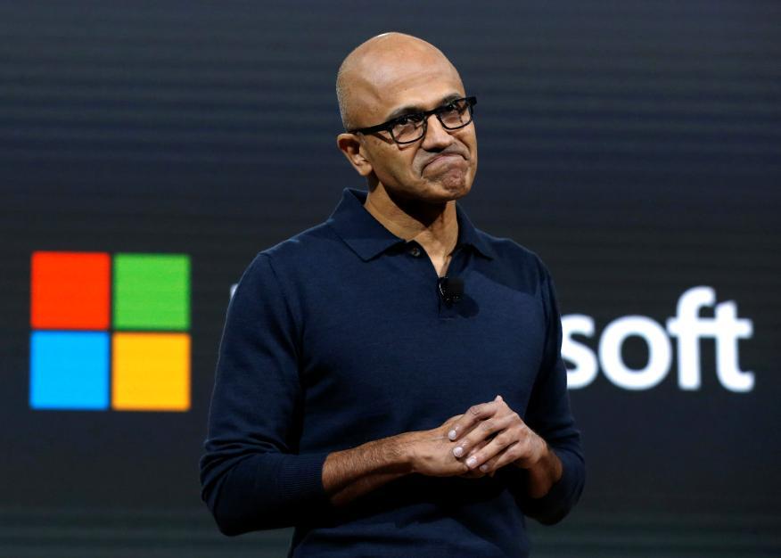 El CEO de Microsoft, Satya Nadella.