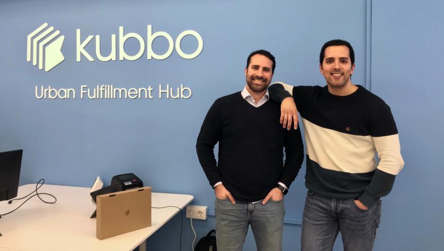 Los cofundadores de Kubbo, Eric Daniel Fernández y Víctor García Pujol.