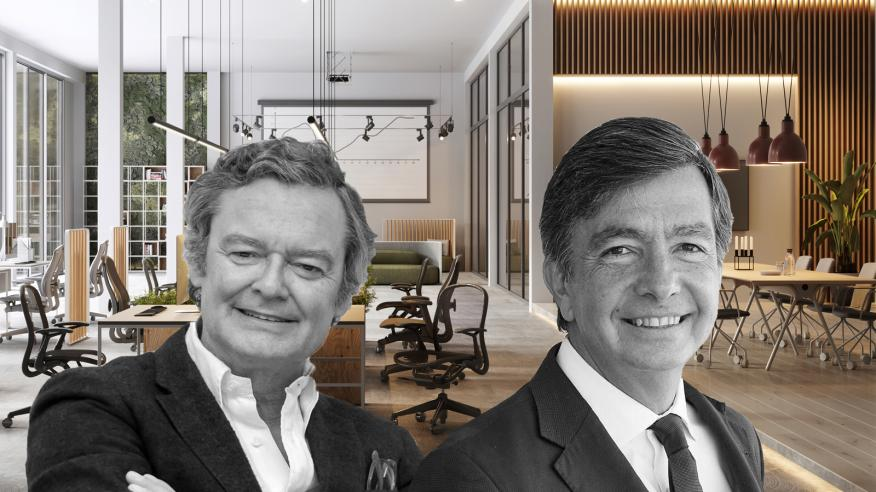 Tristán López-Chicheri, presidente del consejo de dirección de L35, y Carlos Lamela, cofundador y presidente ejecutivo de Estudio Lamela.