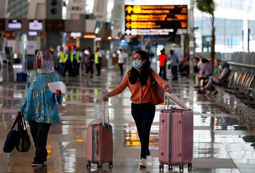 Viajeras aeropuerto