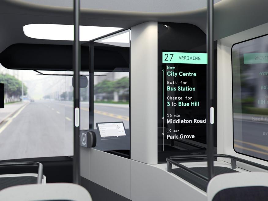 El autobús de Arrival.