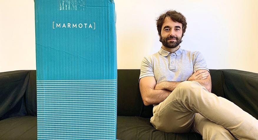 El CEO de Marmota, Mario Gutierrez.