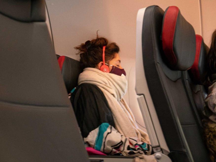 Elegir el asiento de la ventana podría reducir el riesgo de infección.
