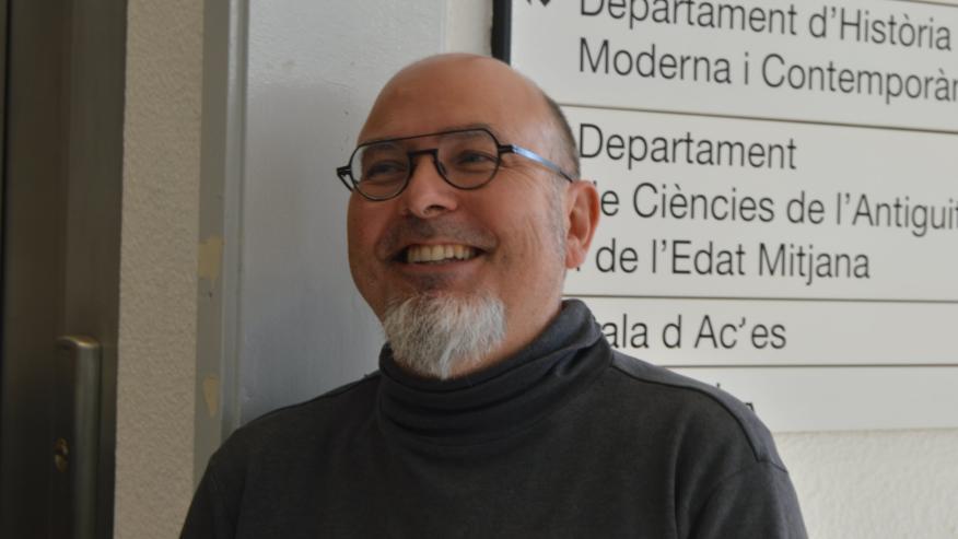 David Casacuberta, uno de los primeros ciberactivistas españoles.