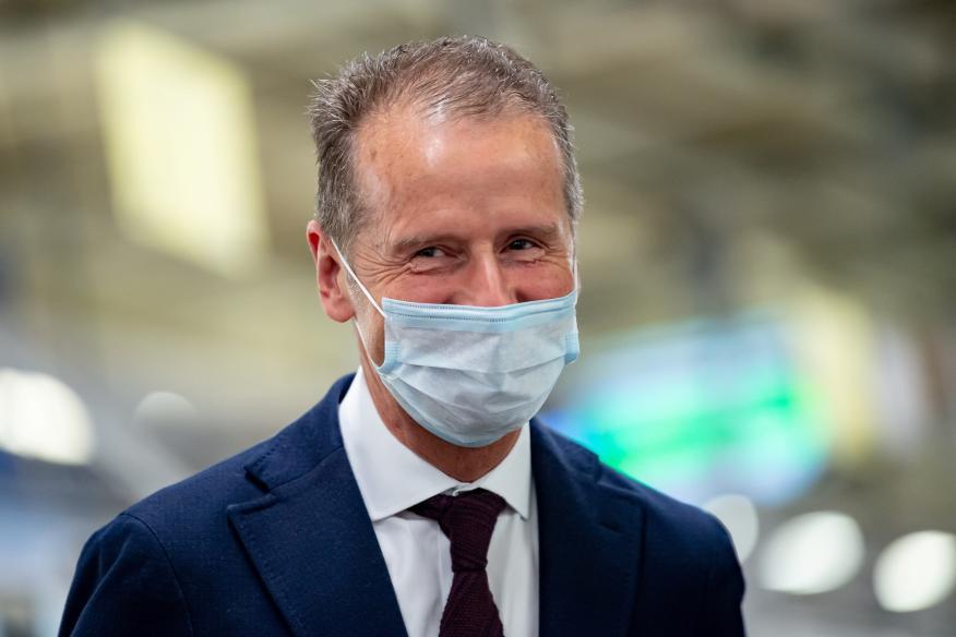 Herbert Diess, CEO de Volkswagen.