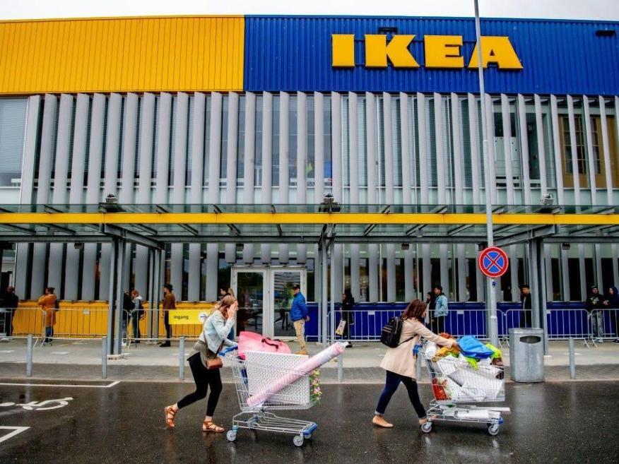 Ikea tiene tiendas en todo el mundo.