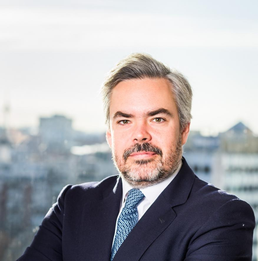 Manuel Gutiérrez-Mellado, responsable del negocio institucional de BlackRock en España, Portugal y Andorra