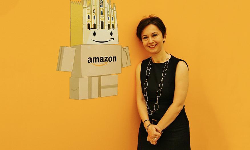 Lavicepresidenta de Amazon y 'country manager' en Italia y España,Mariangela Marseglia.