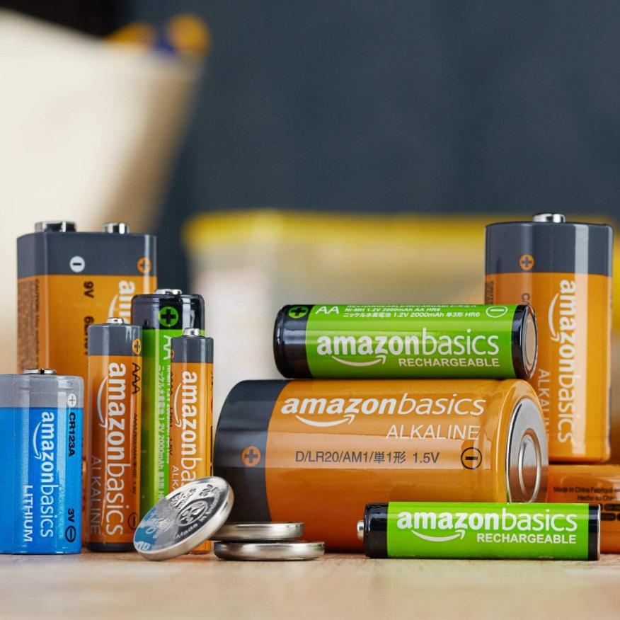 Pilas de Amazon Basics