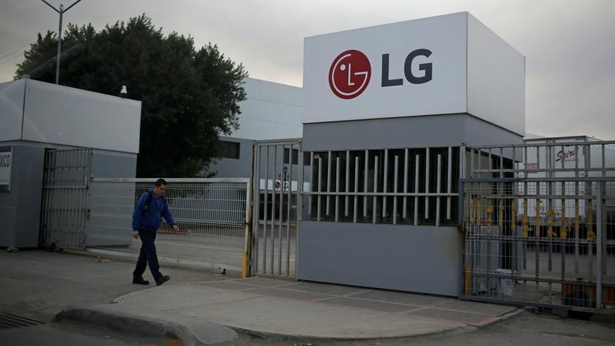 Planta de LG en México.