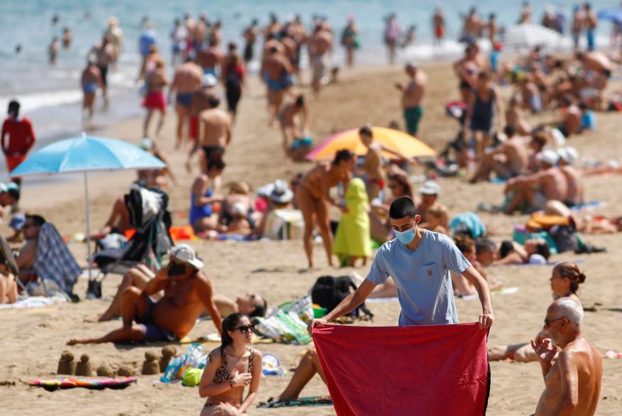Las Palmas de Gran Canaria el pasado 31 de mayo de 2020.