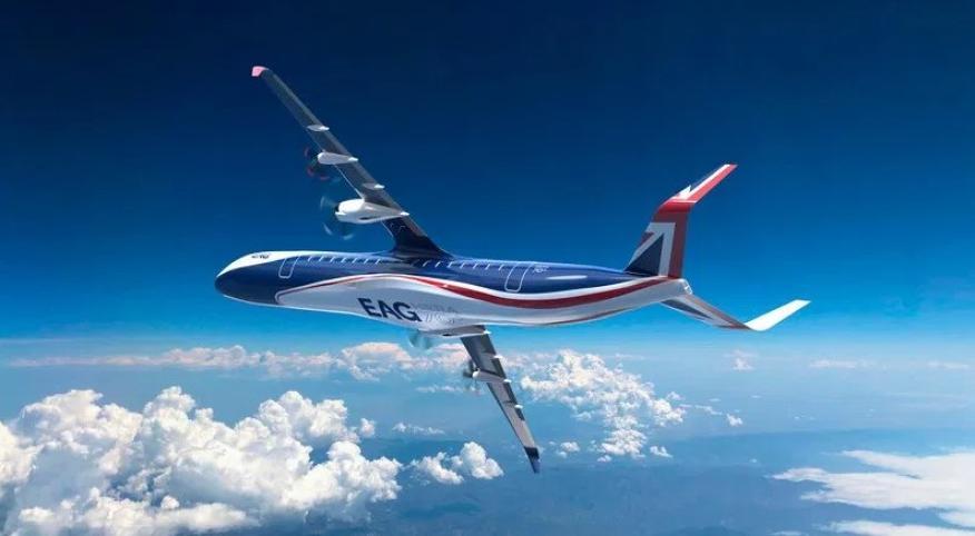 Un avión de EAG