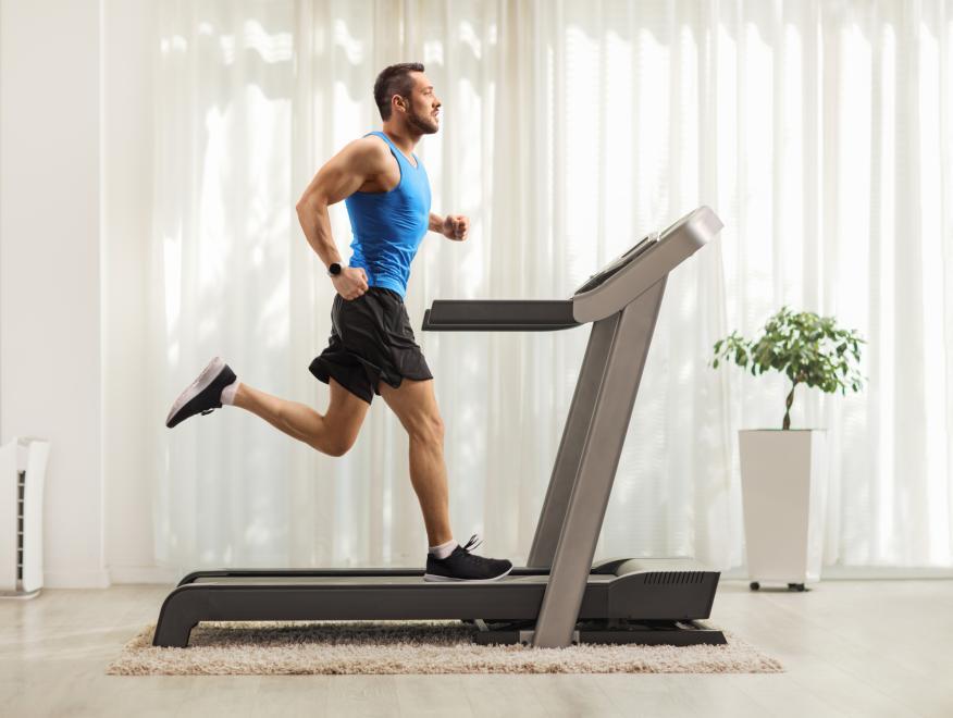 Cinta de correr.