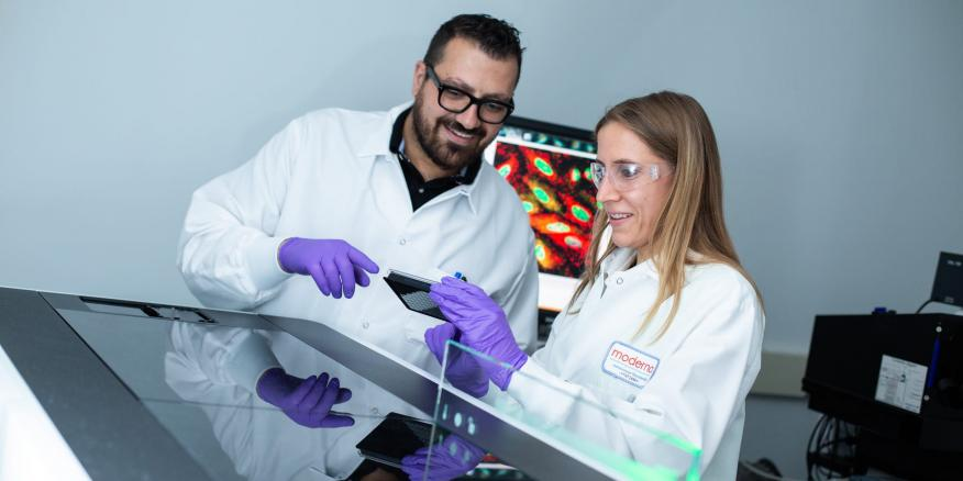 La biotech Moderna está desarrollando vacunas experimentales contra el cáncer.