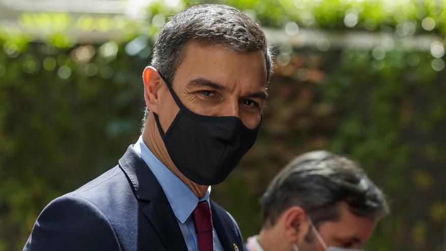 Pedro Sánchez en el Consejo Europeo de julio.