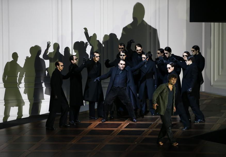 Representación de la ópera de Beethoven, Fidelio, en el Festival de Salzburg