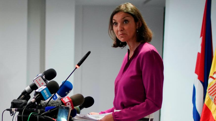 Reyes Maroto, ministra de Industria, Turismo y Comercio.
