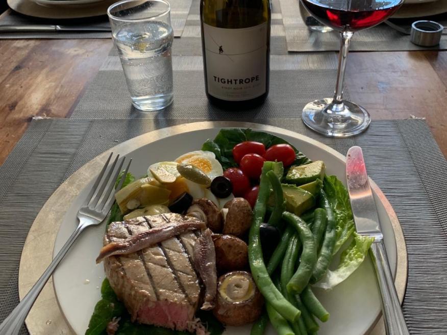 Esta es una cena habitual en la casa de David Harper