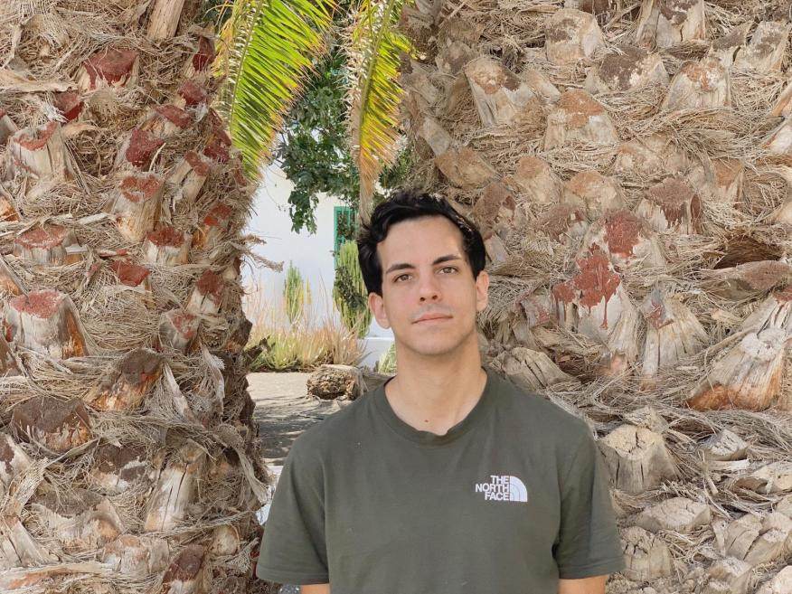 Daniel Betancort, creador de filtros de Instagram.