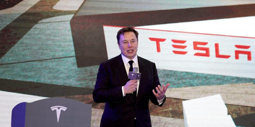 Elon Musk. Aly Song/Reuters