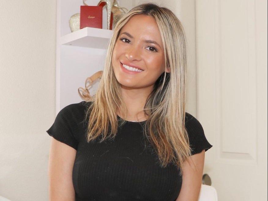 Erica North, una popular creadora de contenidos de la plataforma OnlyFans.