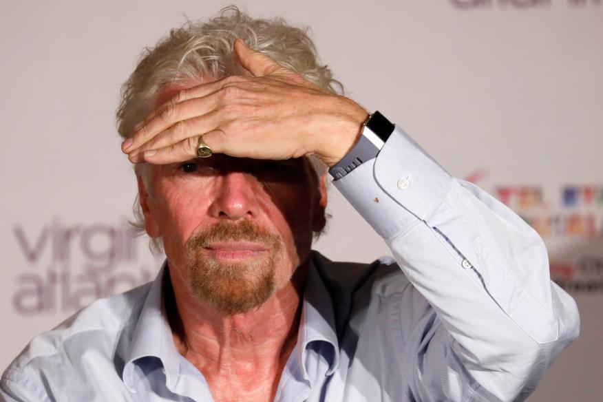 El fundador de la compañía de viajes espaciales suborbitales Virgin Galactic, Richard Branson.