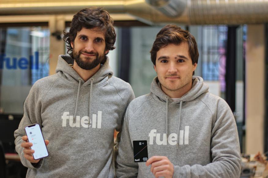 Los fundadores de Fuell, Daniel Seijo y Eduardo Ortiz de Lanzagorta