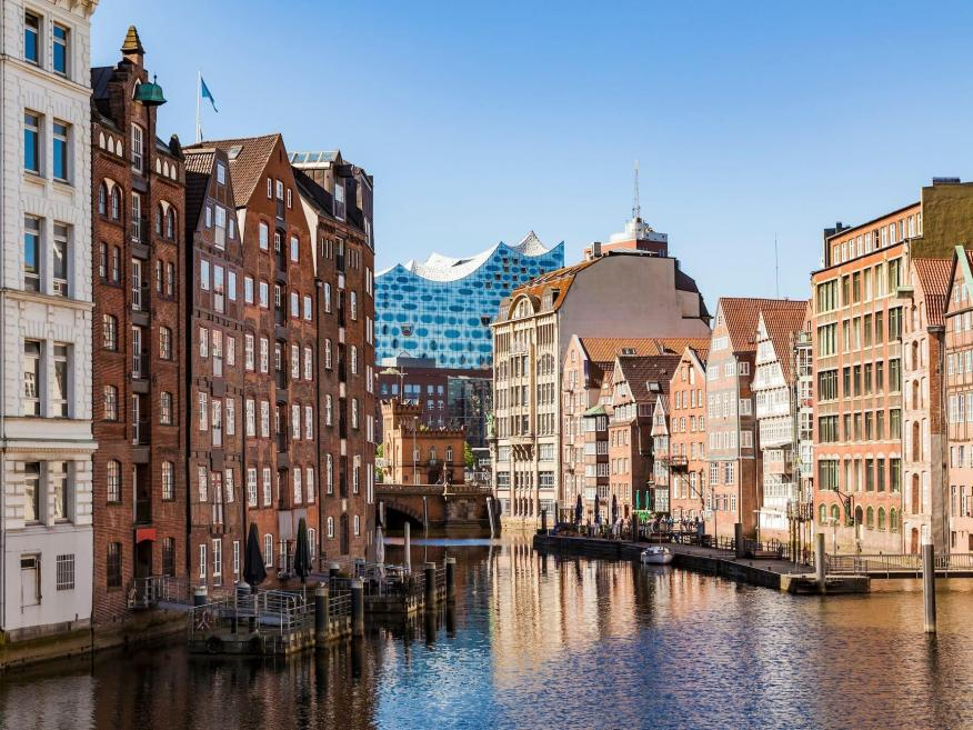 Hamburg, Germany. Westend61/Getty Images