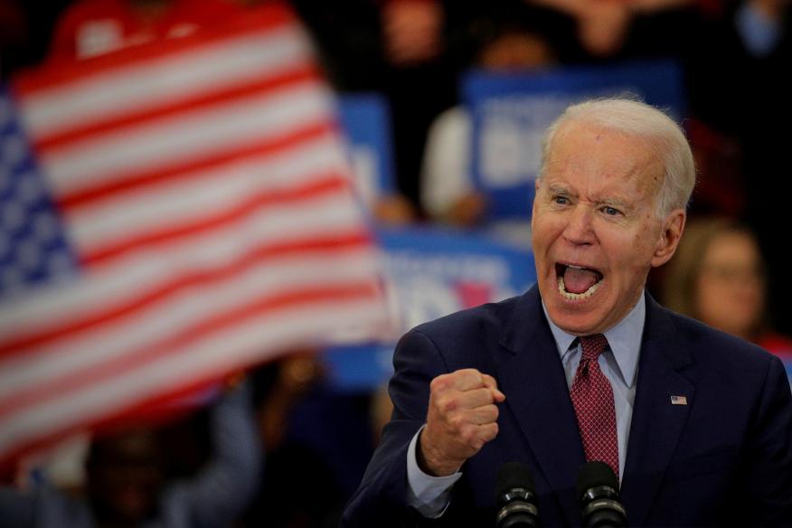 Joe Biden, candidato del Partido Demócrata a las elecciones presidenciales de Estados Unidos.