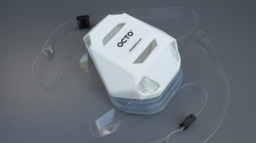 La nueva mascarilla Octo Respirator Mask (ORM).