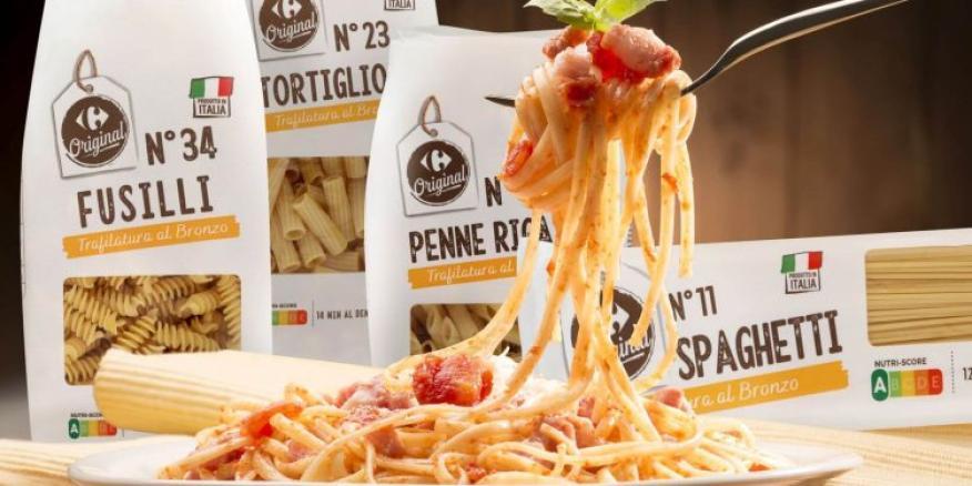 Pastas Italianas Carrefour