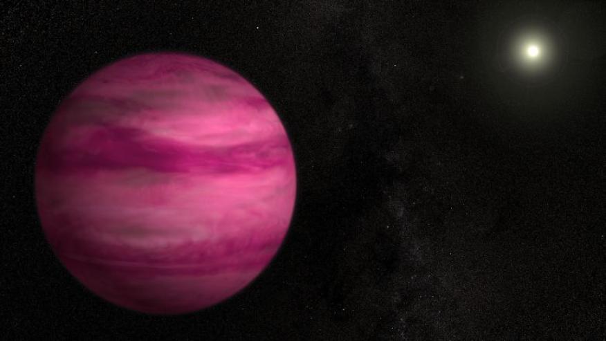 Planeta rosa.