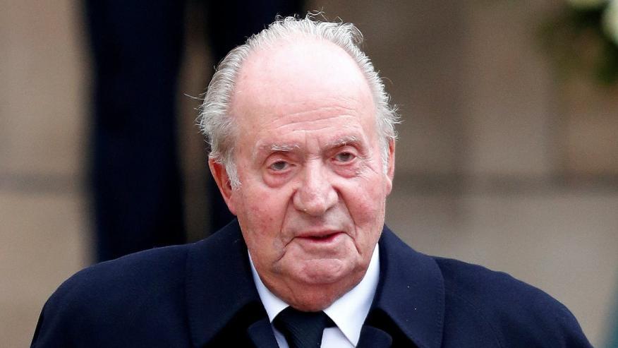 El rey emérito de España, Juan Carlos I.