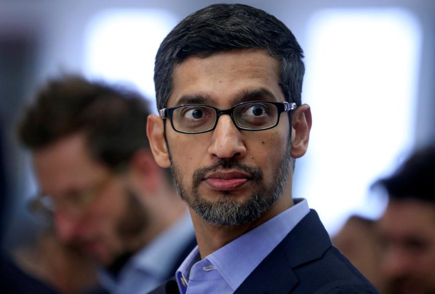 Sundar Pichai, CEO de Google y Alphabet