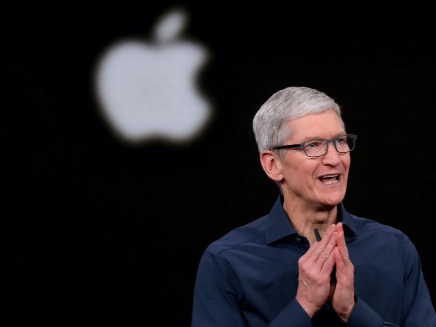 Apple CEO Tim Cook. Karl Mondon/Digital First Media/The Mercury News via Getty Images