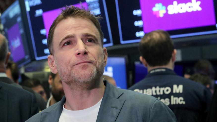 El CEO de Slack, Stewart Butterfield.
