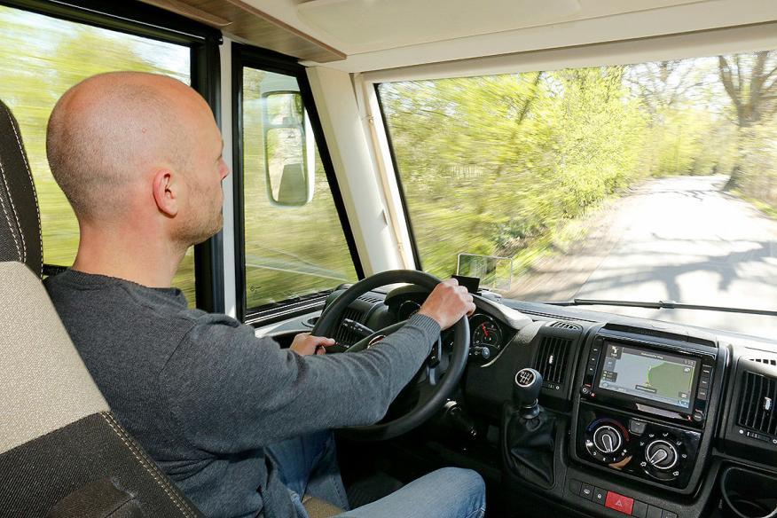 Conducción autocaravana