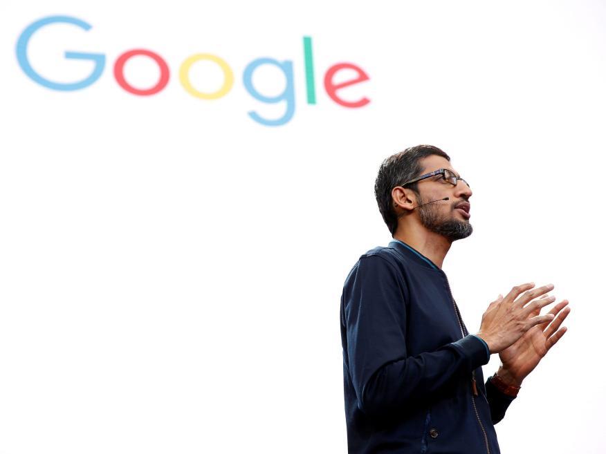 El CEO de Google dice que el futuro del trabajo implica un 'modelo híbrido' y que la empresa ya está reconfigurando sus oficinas para los empleados 'in situ'