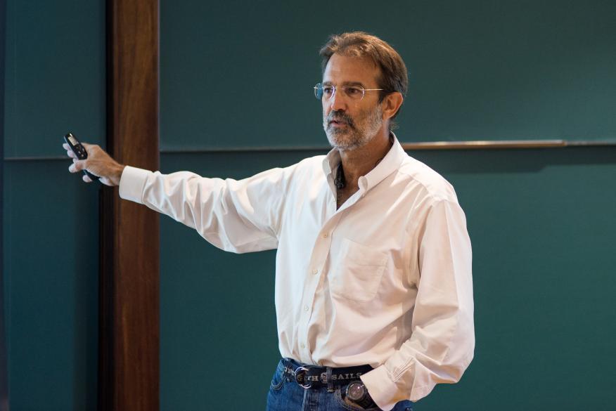 El inversor en startups Luis Martín Cabiedes.
