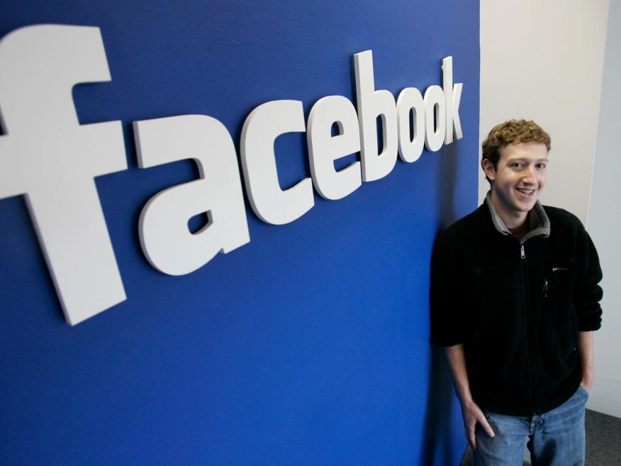 Mark Zuckerberg, CEO de Facebook, en 2007.