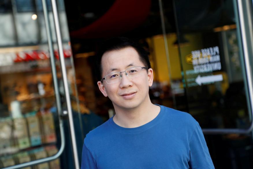 Zhang Yiming, CEO de ByteDance.