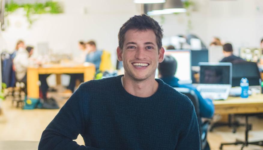 El CEO y fundador de Badi, Carlos Pierre