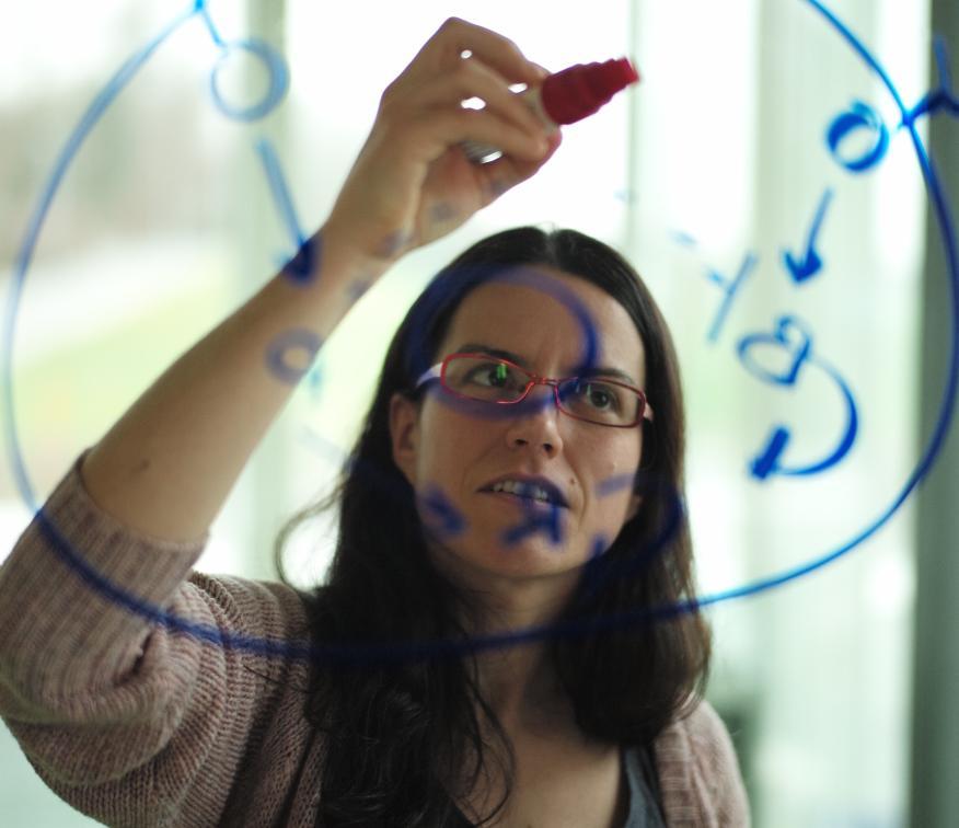 María Rodríguez, investigadora IBM.