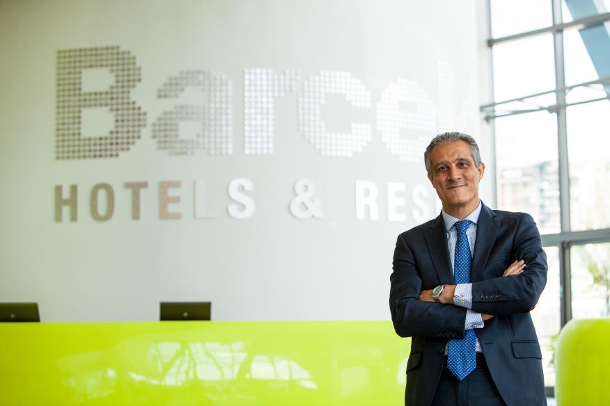 Raúl González, CEO de Barceló Hotel Group para EMEA (Europa, Oriente Medio y África).