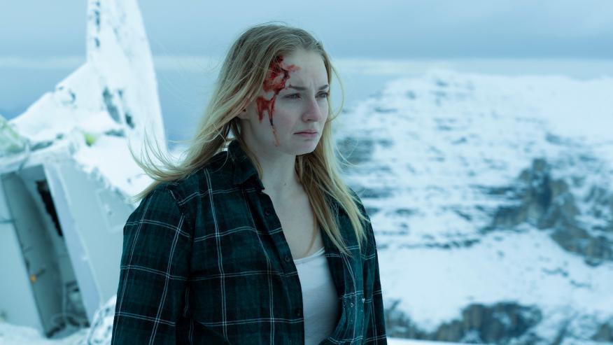 Sophie Turner en 'Survive', de Quibi