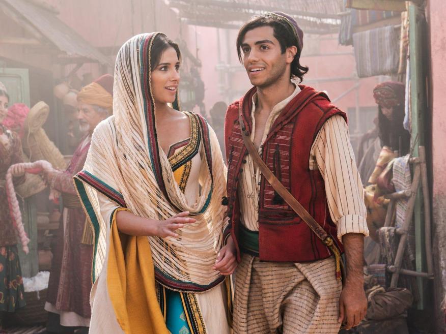 Están trabajando en una secuela de live-action de Aladdin.