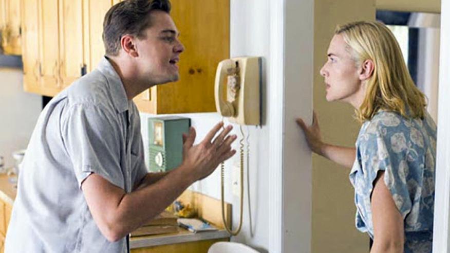 Leonardo DiCaprio junto a Kate Winslet en 'Revolutionary Road'.