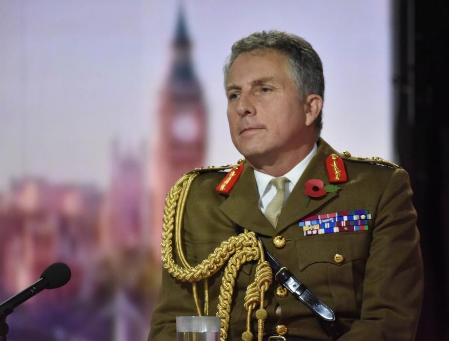 Nick Carter, Jefe del Estado Mayor de la Defensa de Reino Unido.