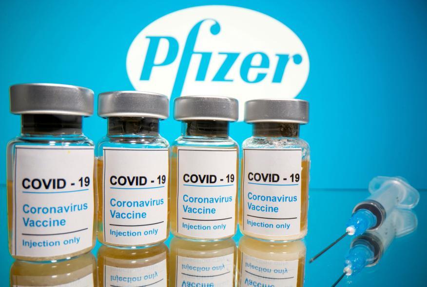 Vacuna Pfizer contra el coronavirus.