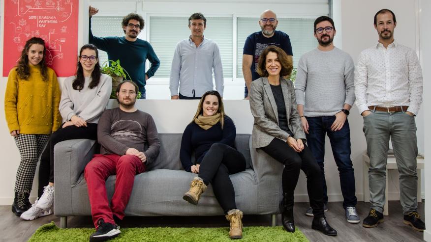 El equipo de Barbara IoT.